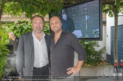 DVD-Präsentation Tosca St. Margarethen, Restaurant Taubenkobel, Schützen, 30.7.2015, Davide DAMIANI, Leonardo GALEAZZI