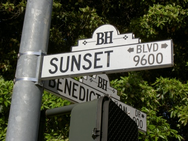 Der Sunset Boulevard (Boulevard der Dämmerung)