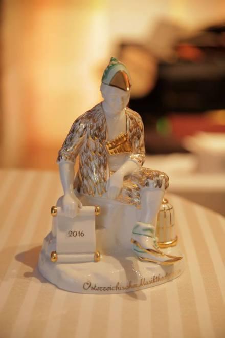 Goldener Schikaneder-Statue